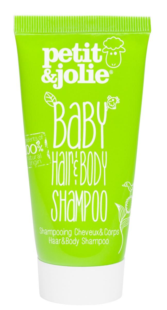 косметика для новорожденных Шампунь для волос Petit&Jolie Шампунь-гель для душа для младенцев