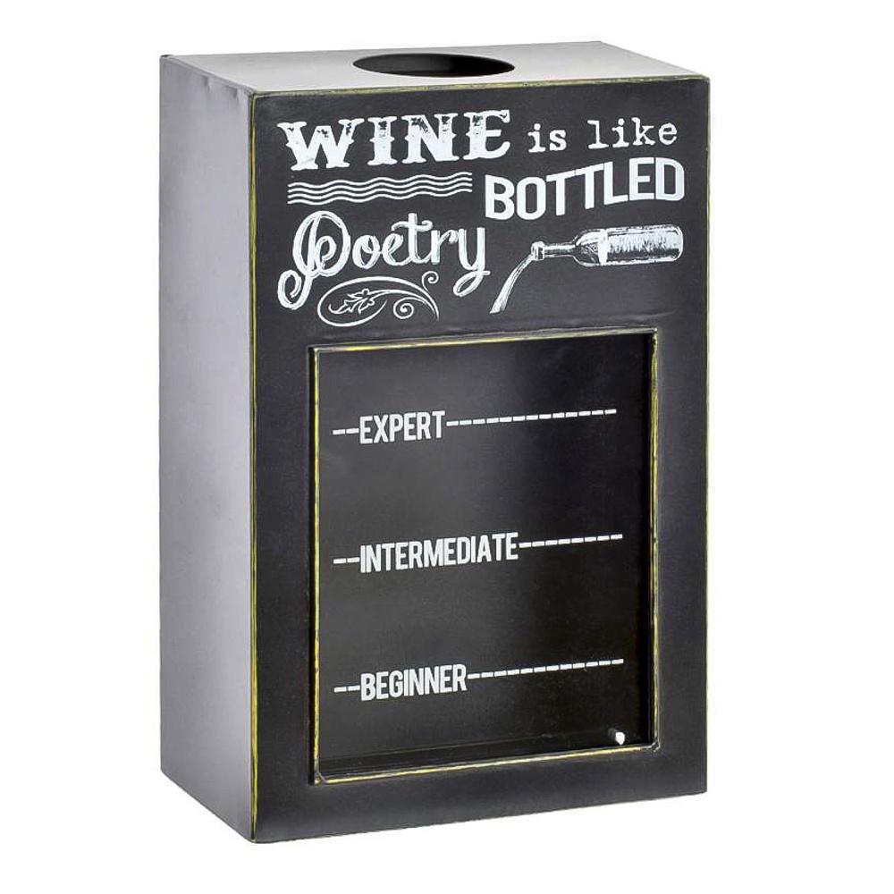 <b>Коробка для пробок Rich</b> Line Home Decor Wine is like bottled ...