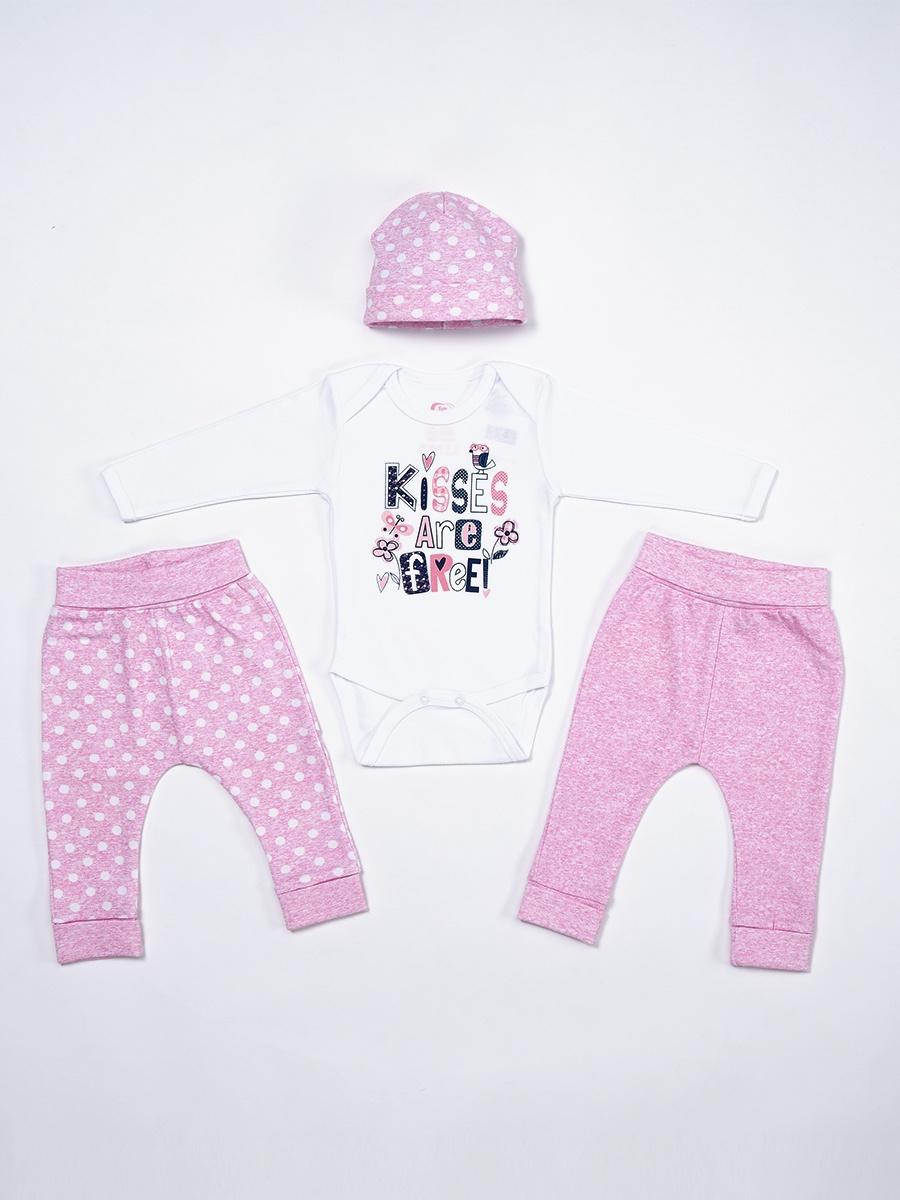 Комплект одежды FIM комплекты детской одежды nannette комплект боди шапочка 14 2841