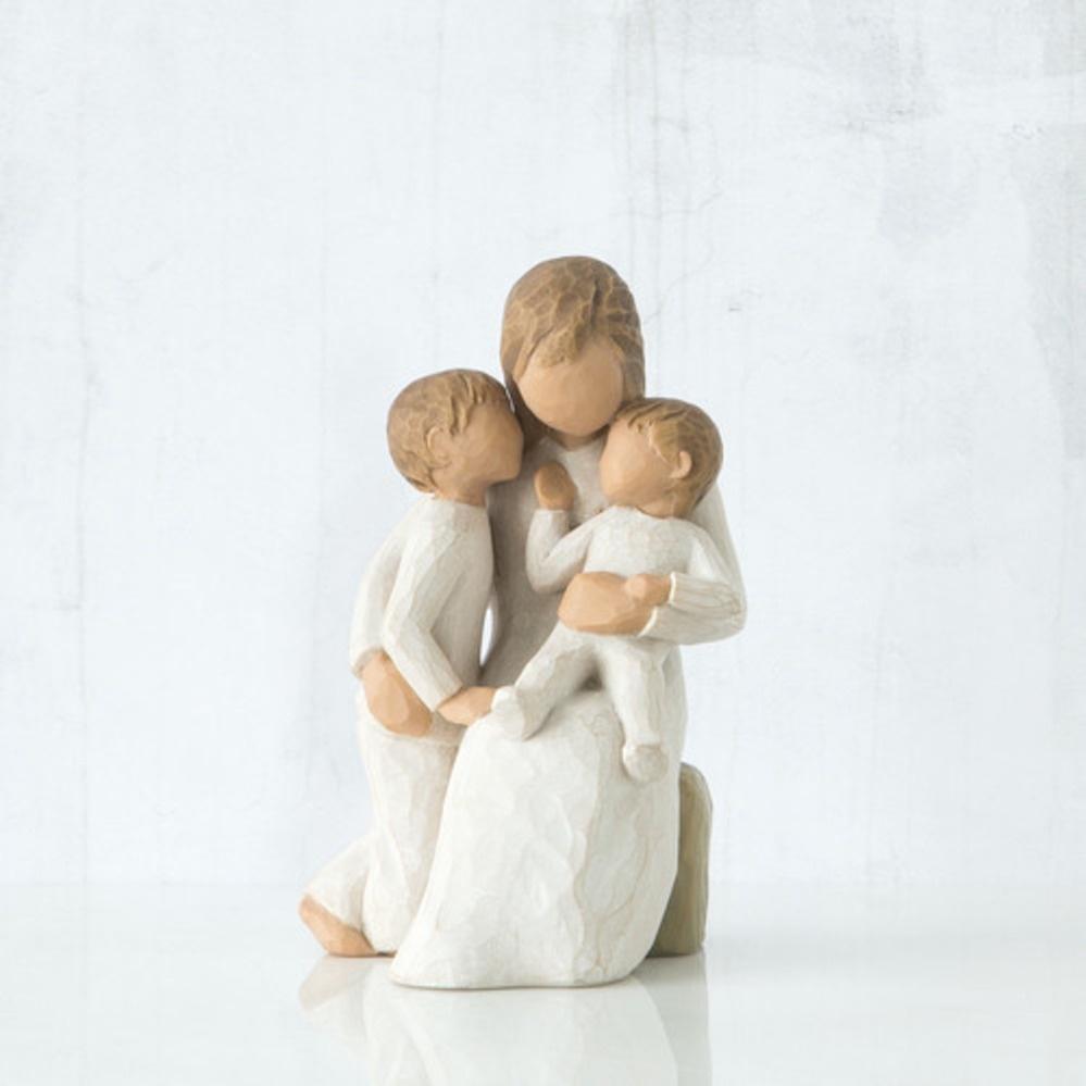 Фигурка декоративная Willow Tree статуэтка миниатюрная, интерьерная, 26100 декоративная фигурка статуэтка статуэтка karavan 4104
