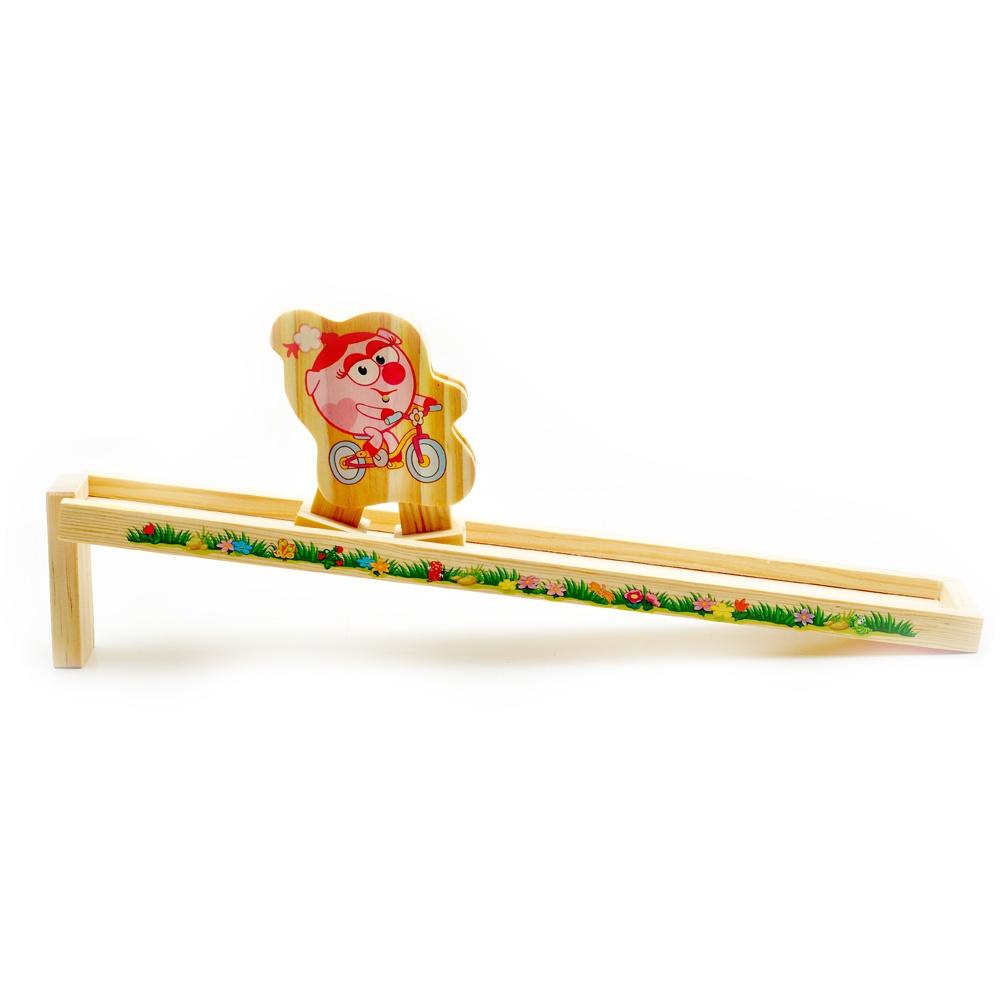 Игрушка деревянная Горка Нюша, Д328 игрушка деревянная горка нюша д328