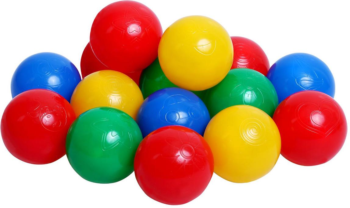 Набор шаров для сухого бассейна, 1313734, 500 шт шарики для сухого бассейна pilsan шарики для сухого бассейна 100 штук 9 см пакете сумке