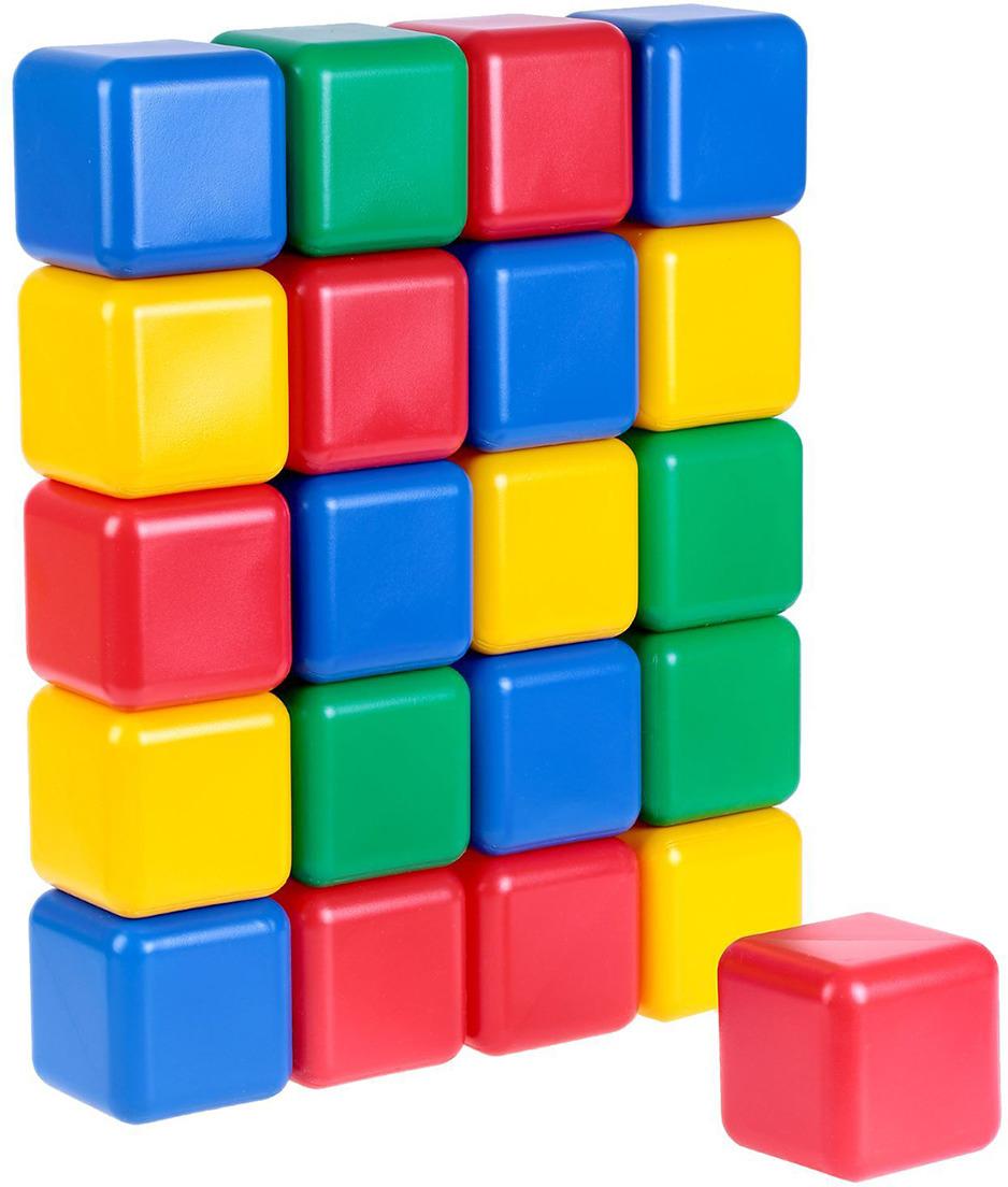 Кубики Крошка Я, 1930546, 12 см, 21 шт