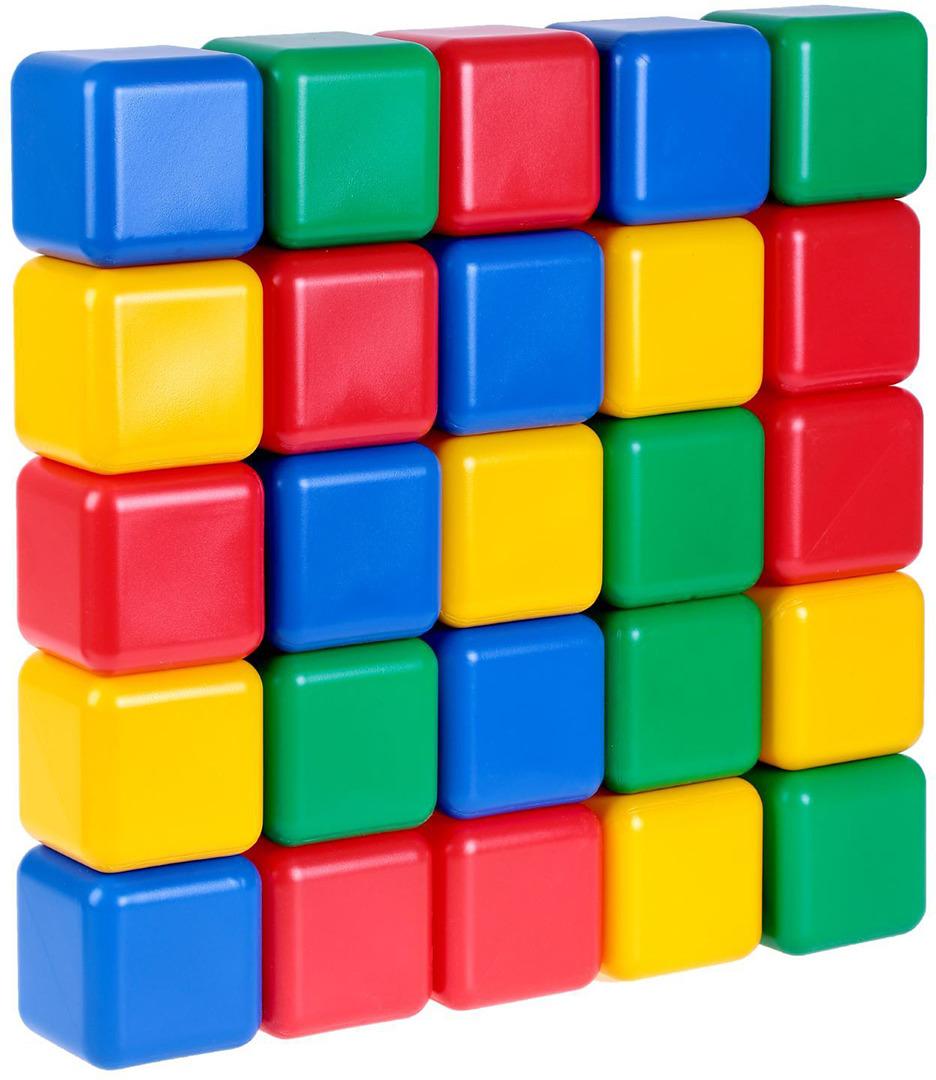 Кубики Крошка Я, 1930547, 12 см, 25 шт