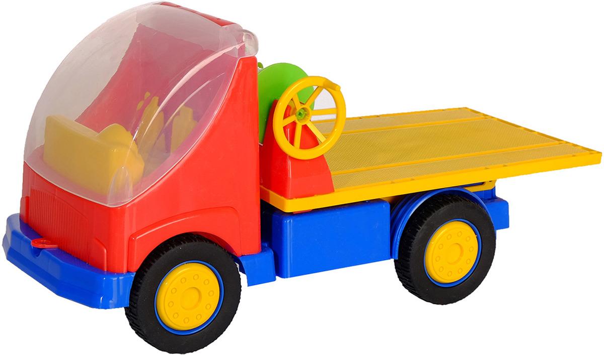 Машинка Автоэвакуатор, 32728103272810Иметь такую машинку в своем арсенале мечтает каждый ребенок. Машина выполнена из качественного материала и не вызывает аллергии.