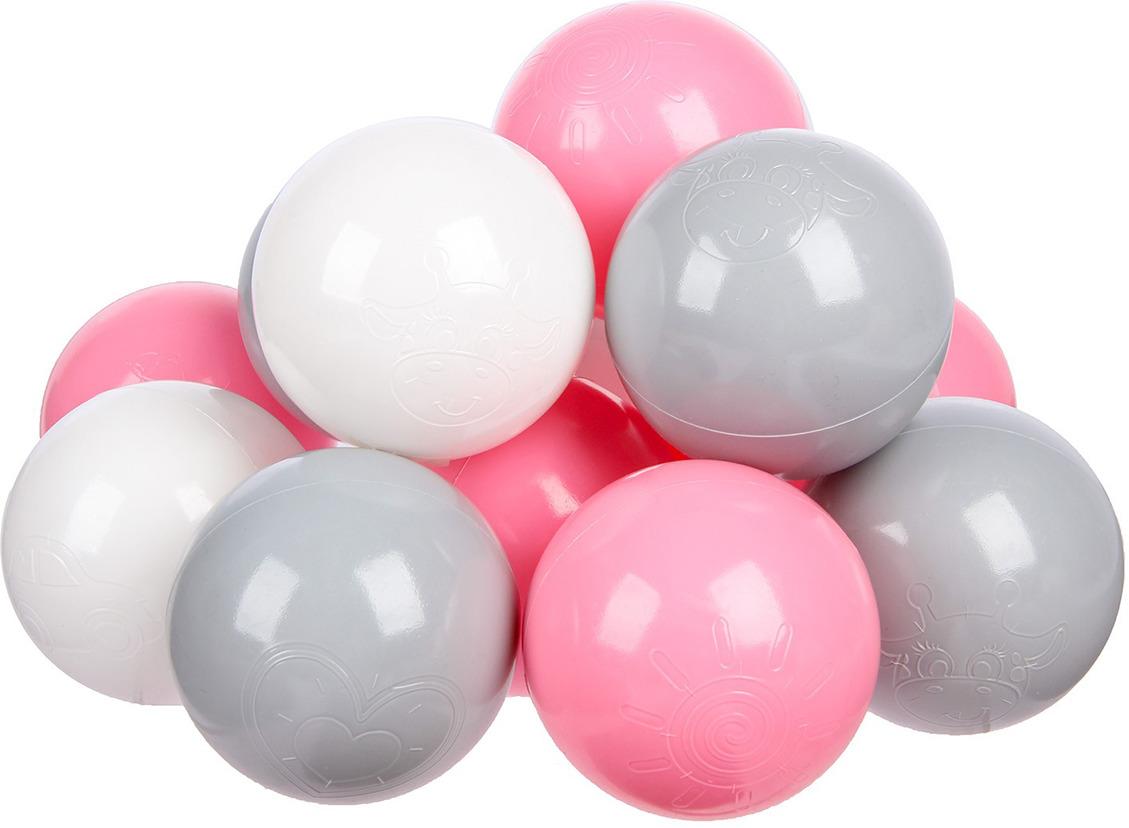 Набор шаров, 3654486, 60 шт игровой центр крошка я шарики для бассейна 90шт 1207031