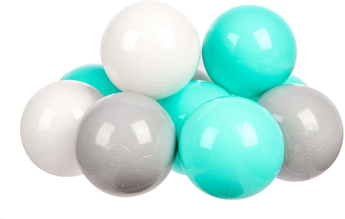 Набор шаров, 3654490, 30 шт игровой центр крошка я шарики для бассейна 90шт 1207031