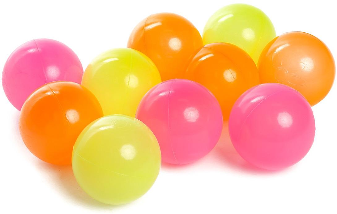 Набор шаров Крошка Я Флуоресцентные, 3654493, 30 шт игровой центр крошка я шарики для бассейна 90шт 1207031