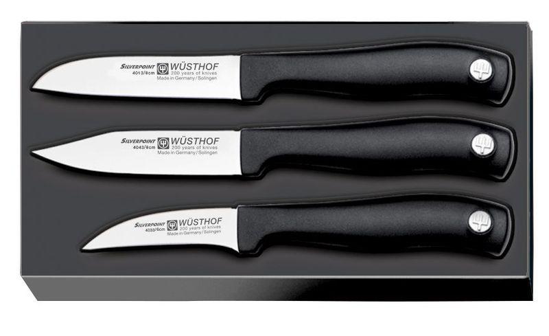 Набор ножей Wuesthof для чистки овощей серия Silverpoint, 9352 набор кухонных ножей 3 шт 7941 clasica серия clasica