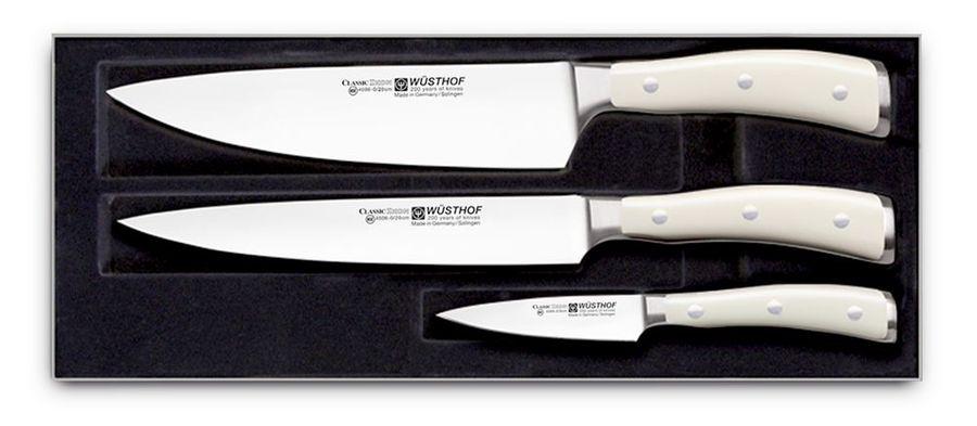 Набор ножей, серия Riviera Blanca серия Ikon Cream White, 9601-0 WUS набор кухонных ножей wuesthof для чистки и нарезки овощей и фруктов 9314 3 2 шт