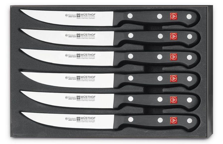 Набор ножей Wuesthof для стейка Gourmet, 9728, 6 шт