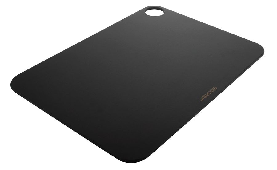 Доска разделочная Arcos Accessories, 692210, с желобом, черный, 38 х 28 см цена