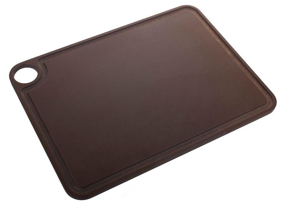 Доска разделочная Arcos Accessories, 692200, с желобом, коричневый, 38 х 28 см доска разделочная для пиццы америка цвет коричневый 32 х 32 х 1 5 см