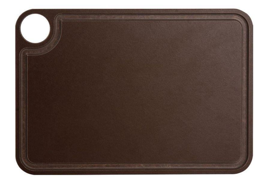 Доска разделочная Arcos Accessories, 692100, с желобом, коричневый, 30,5 х 23 см доска разделочная для пиццы америка цвет коричневый 32 х 32 х 1 5 см