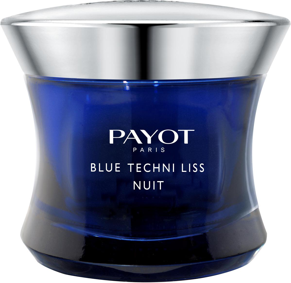 Бальзам для ухода за кожей Blue Techni Liss, ночной, хроноактивный, 50 мл ночной хроноактивный бальзам для лица payot blue techni liss 50 мл
