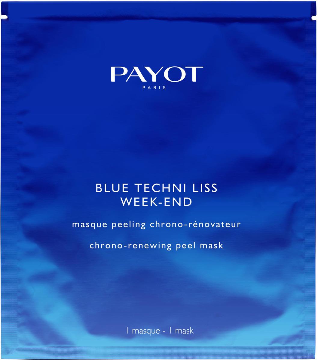 Маска-пиллинг для ухода за кожей Payot Blue Techni Liss, обновляющая payot techni peel masque разглаживающая маска скраб