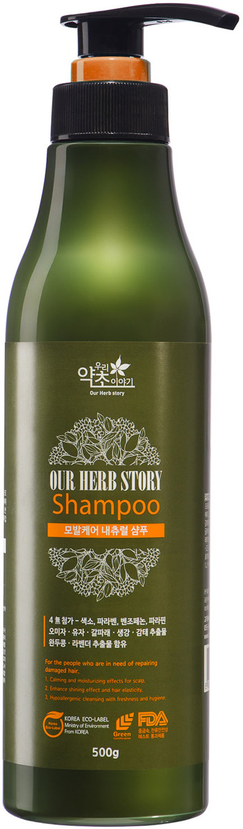 Шампунь для волос Korea Our Herb Story, 500 г цена