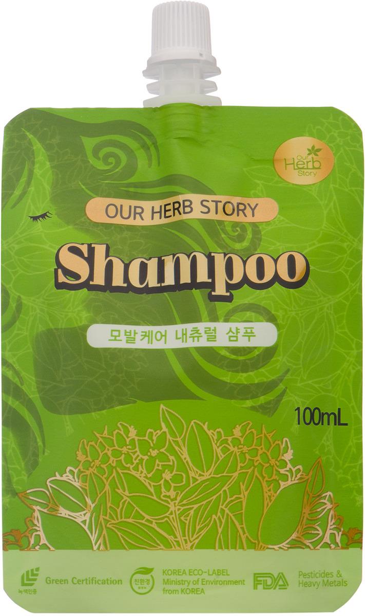 Шампунь для волос Korea Our Herb Story, 100 млHCSP-P100Шампунь идеально подходит людям с поврежденными волосами: мягко очищает, оказывает успокаивающее и увлажняющее действие на кожу головы, стимулирует рост волос.Благодаря входящему в состав экстракту лимонника китайского волосы становятся сильными, блестящими, гладкими и эластичными.