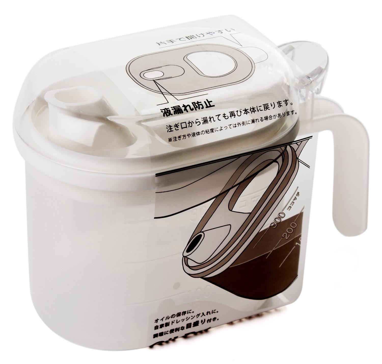 Кувшин для масла и соуса YAMADA, 527W, белый, 0,3 л