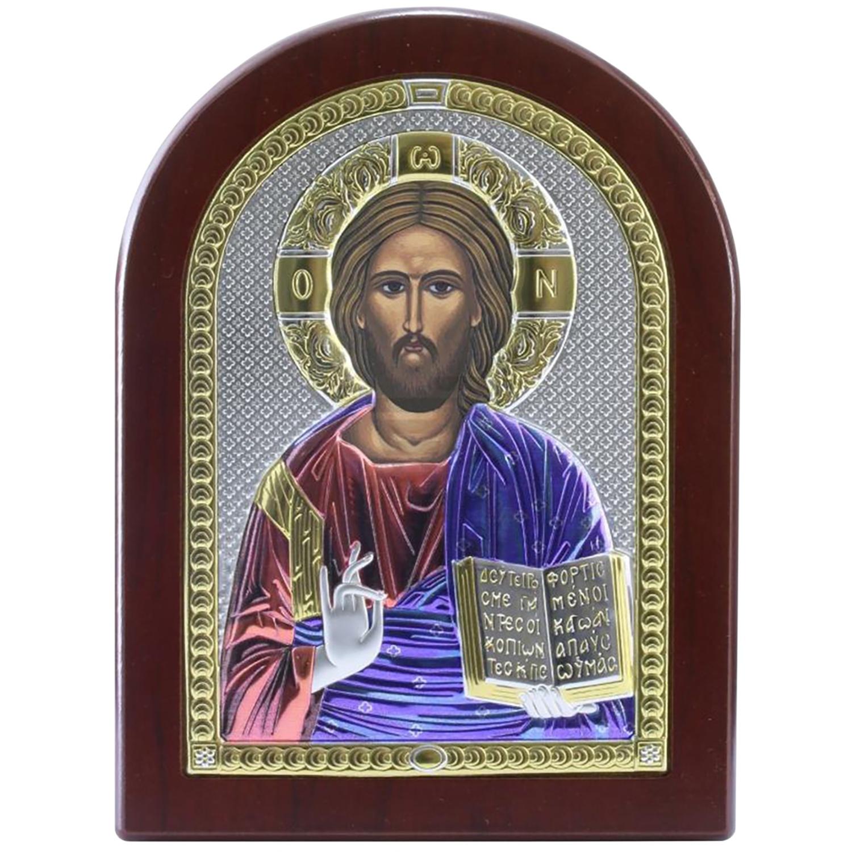 Икона АргентА Вседержитель 84001 4LСOL, 15 х 20 см иконы
