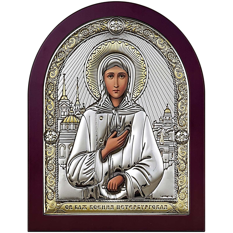 Икона АргентА Ксения Петербургская 6406/3ОW икона юлия бисер