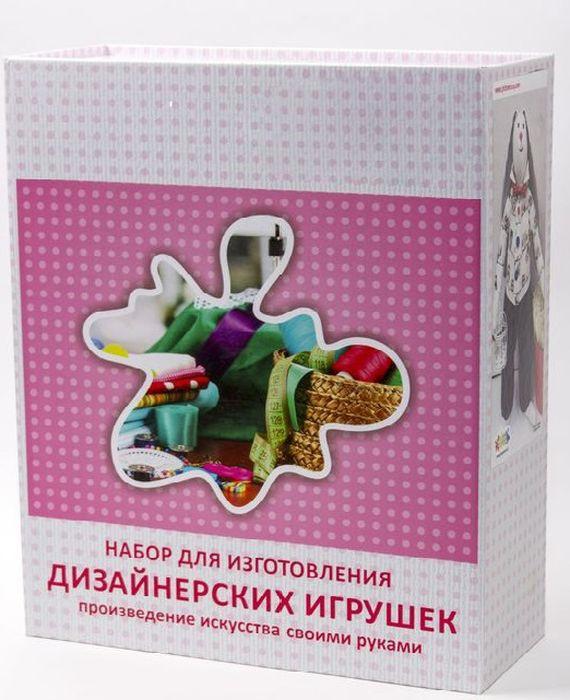 Набор для шитья игрушки Цветной Овечка мечтательница, высота 35 см. DI009