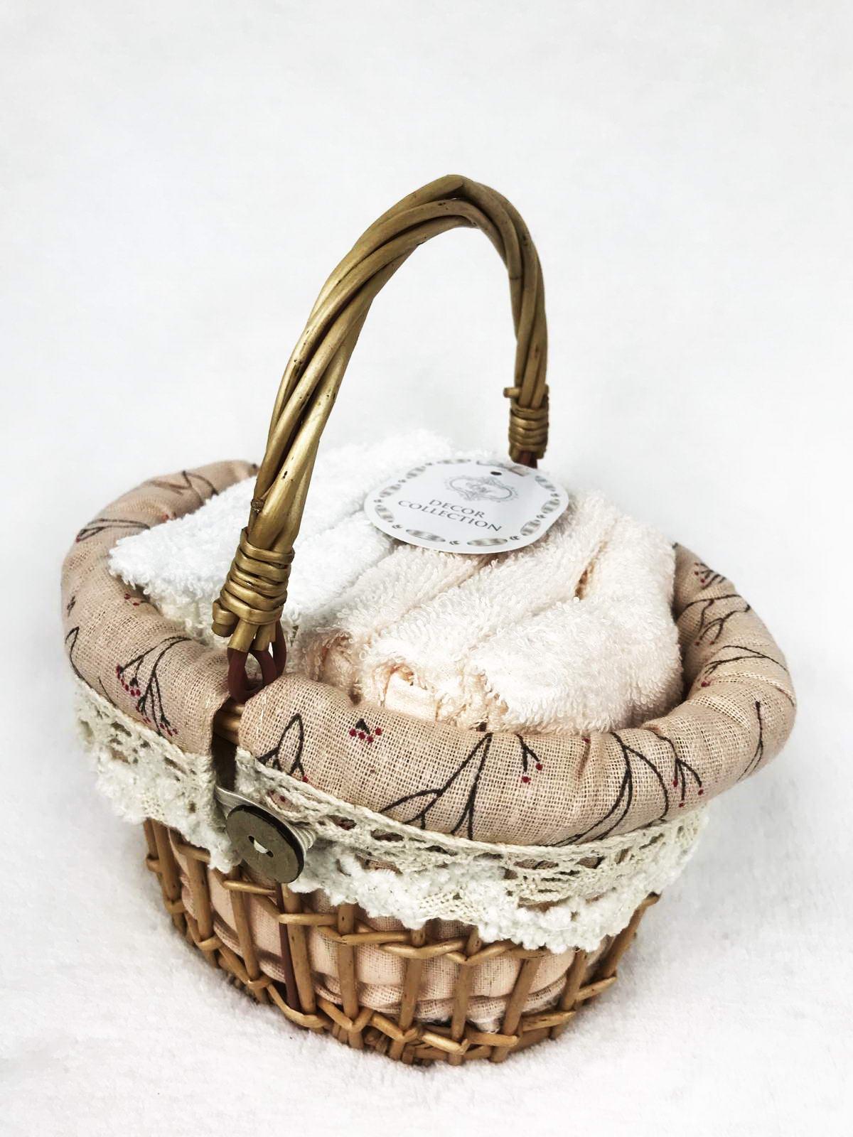 """Набор салфеток Sofi de Marko Виола, Наб-В5, персик, 6штНаб-В5-пДекоративные салфетки из 100% хлопка представлены в нежных """"пудренных"""" цветовых решениях, прекрасно впитывают влагу и придают ощущение нежности. Салфетки упакованы в декоративную коробку из натурального дерева, которая будет одинаково хорошо смотреться как на кухне, так и в ванной комнате. Размер салфетки: 30х30 (6шт);"""