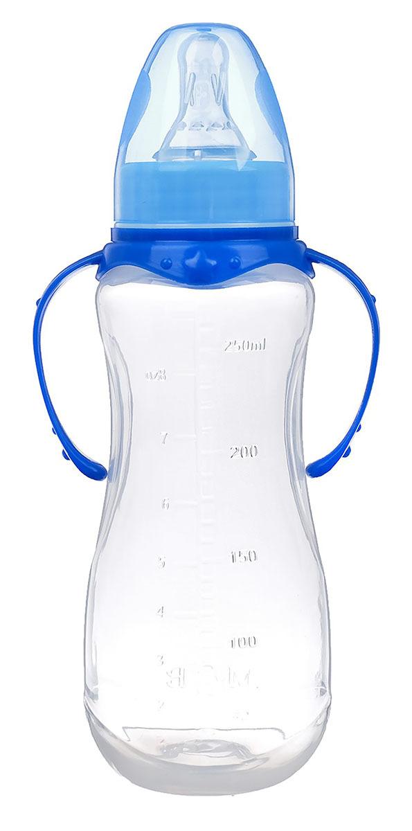 Бутылочка для кормления Mum&Baby, 2969722, синий, 250 мл