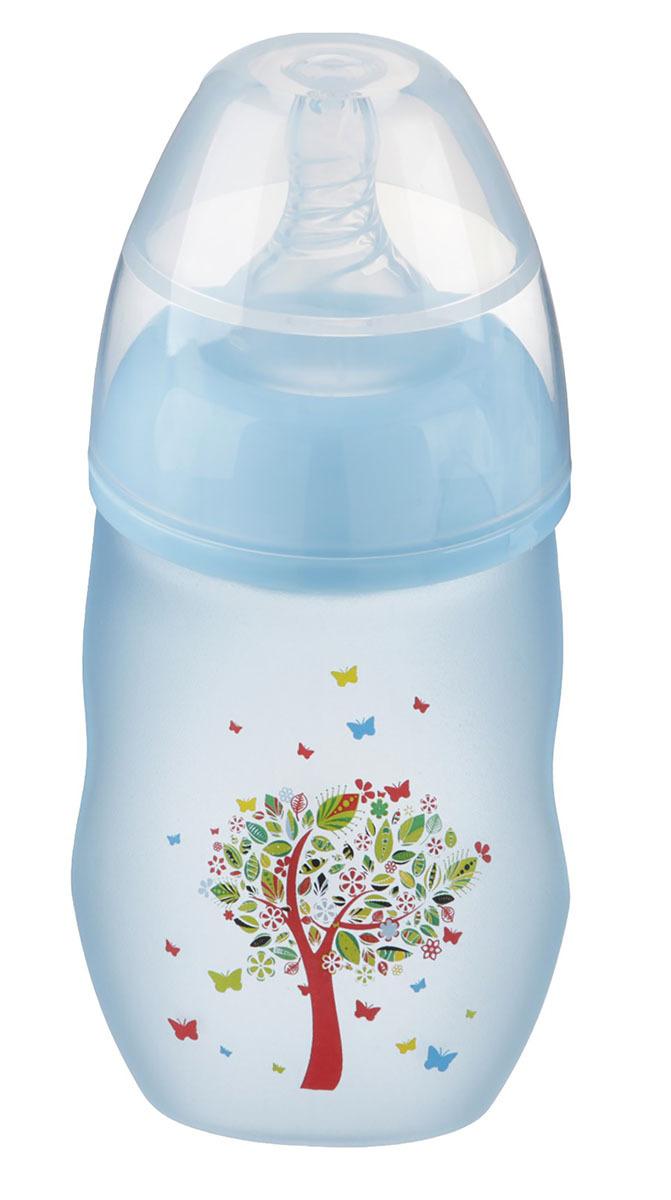 Бутылочка для кормления Крошка Я, 2589865, стеклянная, с широким горлом, 240 мл
