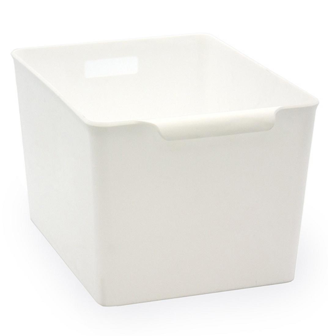 Корзина для хранения YAMADA, 1352WH, молочная, 253*189*150 мм