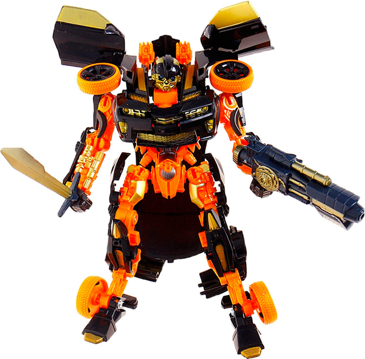 Робот-трансформер Защитник, 874746874746То, что мальчишки любят роботов, известно всем. Они олицетворяют собой силу, мощь, неуязвимость. А если робот может ещё и трансформироваться в другой предмет, то это уже не один подарок, а сразу несколько! Трансформер — универсальная игрушка для многих мальчишеских забав. Робот-трансформер станет прекрасным подарком юному механику или изобретателю. С помощью этой игрушки ребёнок сможет проявить смекалку и собрать то, что он сам пожелает. Конструктор способствует развитию мелкой моторики, изобретательности, воображения, трудолюбия, навыков конструирования.