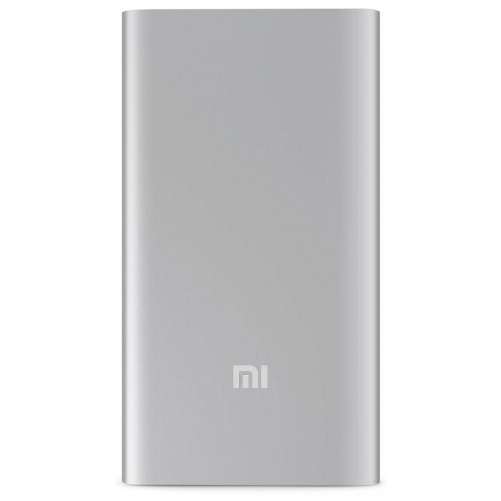 Внешний аккумулятор Xiaomi Mi Power Bank 2 5.000 mAh (Silver) внешний аккумулятор xiaomi 5000mah mi power bank 2 silver plm10zm vxn4236gl