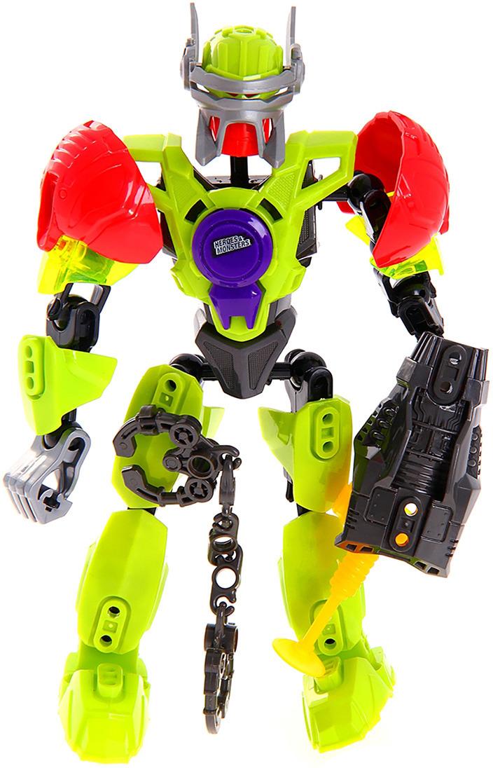 Робот-конструктор Heroes & Monsters Герой Galaktion, 882948 роботы education line roboblock робот герой xl 89 элементов