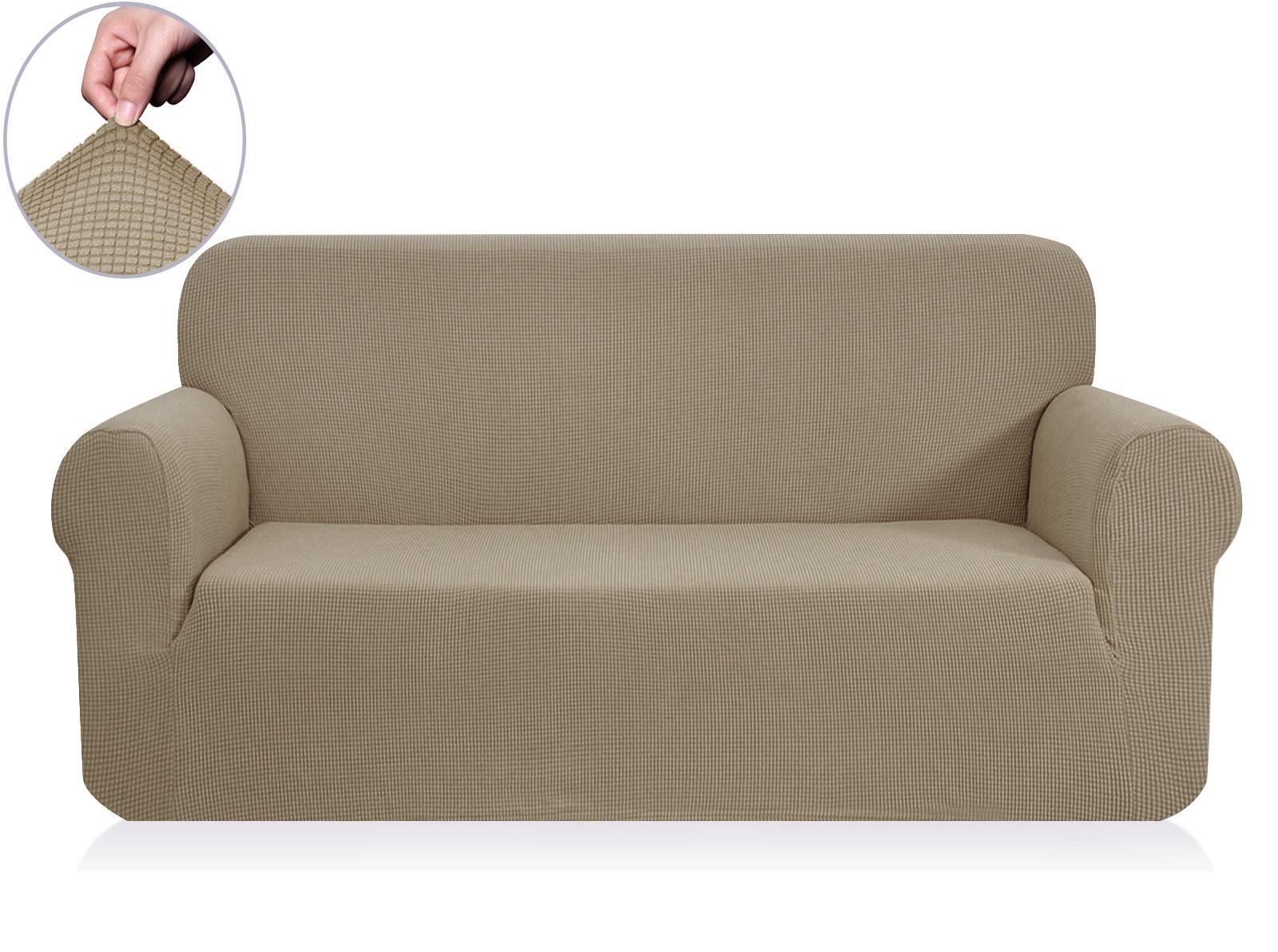 Чехол на 2-х местный диван Sofi de Marko Моника, Див-6к-р2, кофейный диван 2 х местный secret de maison бронко bronco 1193 2 х местный из натуральной кожи доступные цвета античный тёмный