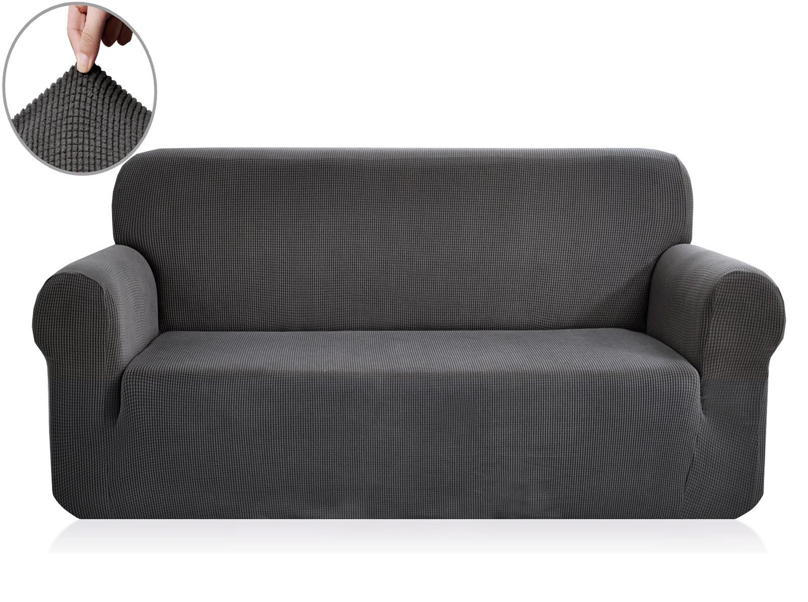 Чехол на 2-х местный диван Sofi de Marko Моника, Див-5с-р2, серый диван 2 х местный secret de maison бронко bronco 1193 2 х местный из натуральной кожи доступные цвета античный тёмный