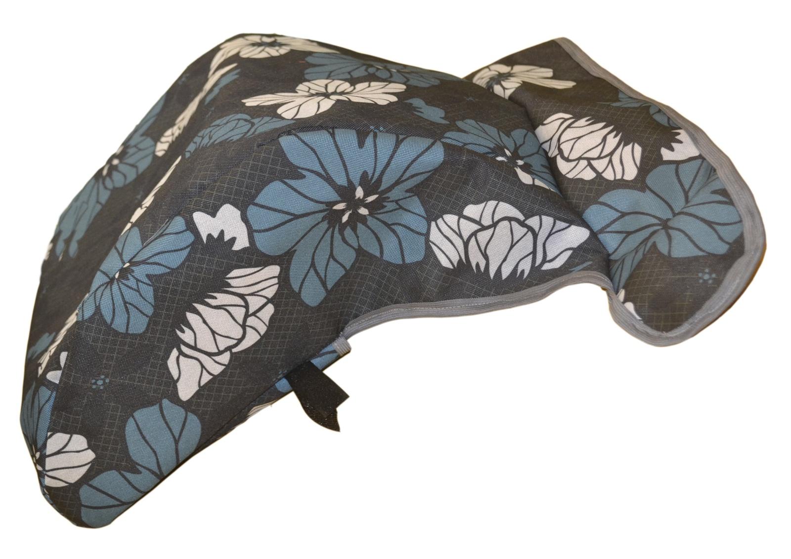 Коляска прогулочная Мирти Чехол-пенал утепленный на ноги для коляски, цветы недорого