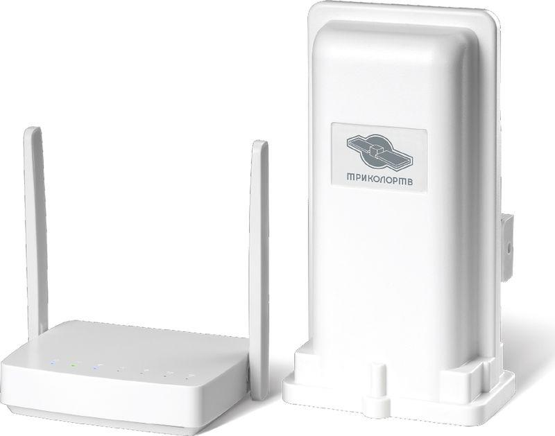 Комплект усилитель мобильного интернета Триколор DS-4G-5kit, белый gobi6000 em7455 fru 00jt547 fdd tdd lte 4g wwan wireless network card for t460 t460p t460s l460 l560 yoga 260 p40 p50 p70 p50s