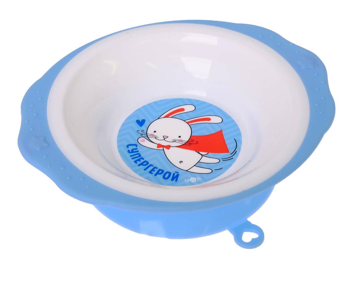 Набор посуды для кормления Mum&Baby Супергерой, 2618906, 3 предмета набор посуды для кормления mum