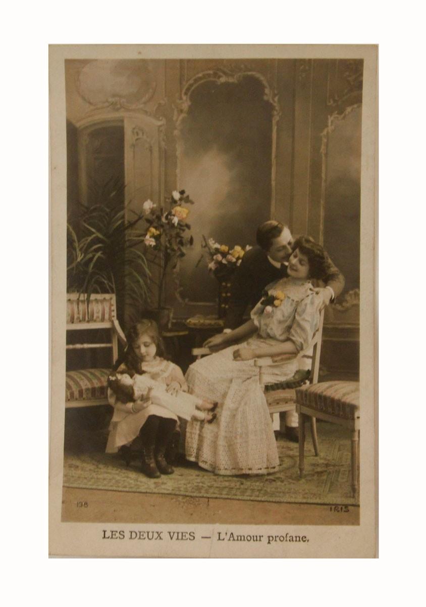Открытка коллекционная винтажная, ОС33471 почтовая открытка колоризированное изображение франция начало xx века