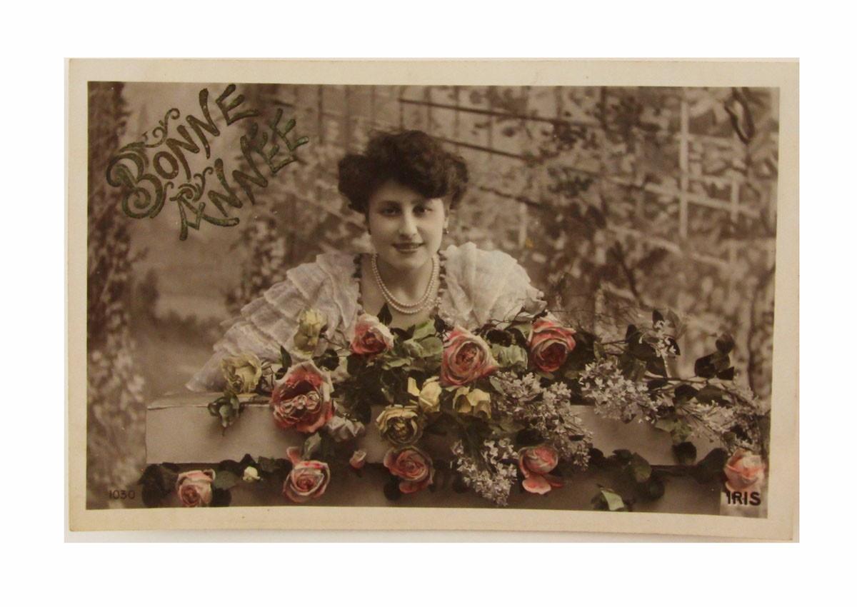 Открытка коллекционная винтажная, ОС33479 почтовая открытка колоризированное изображение франция начало xx века