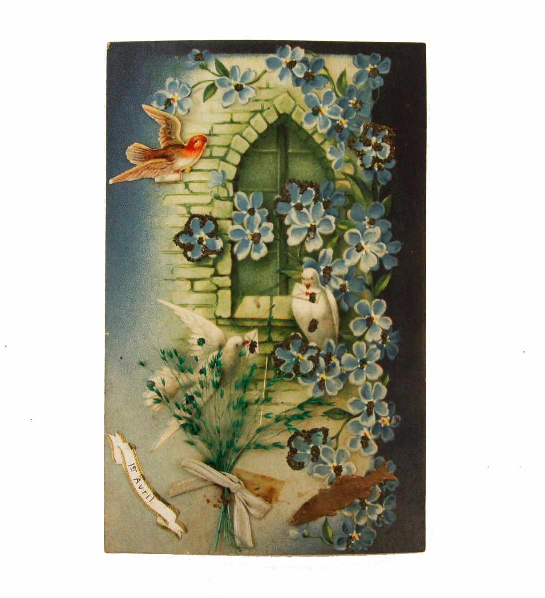 Открытка коллекционная винтажная, ОС33415 почтовая открытка колоризированное изображение франция начало xx века