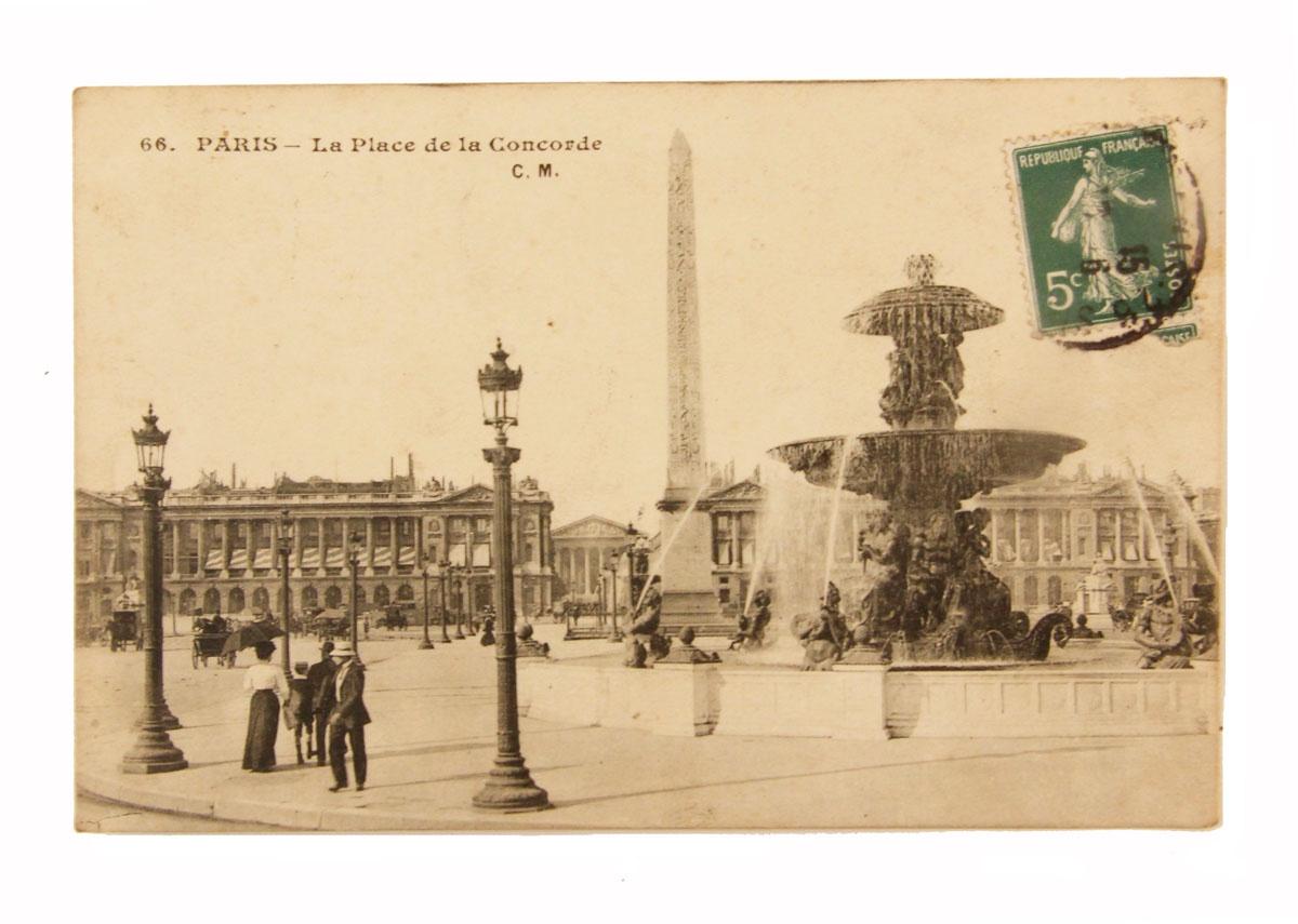 Открытка коллекционная винтажная, ОС33430 почтовая открытка колоризированное изображение франция начало xx века