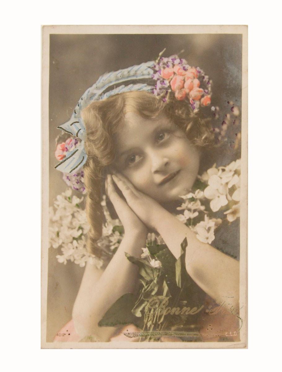 Открытка коллекционная винтажная, ОС33449 почтовая открытка колоризированное изображение франция начало xx века