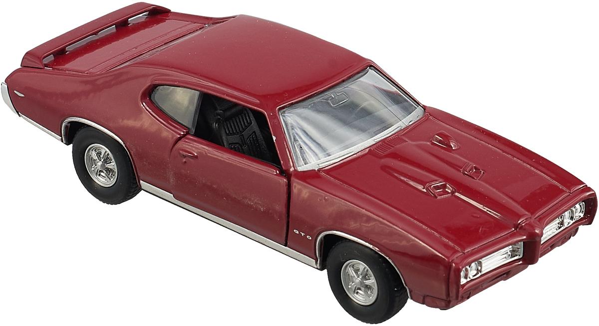 Welly Модель автомобиля Pontiac GTO цвет бордовый tohru fujisawa gto 14 days in shonan volume 1