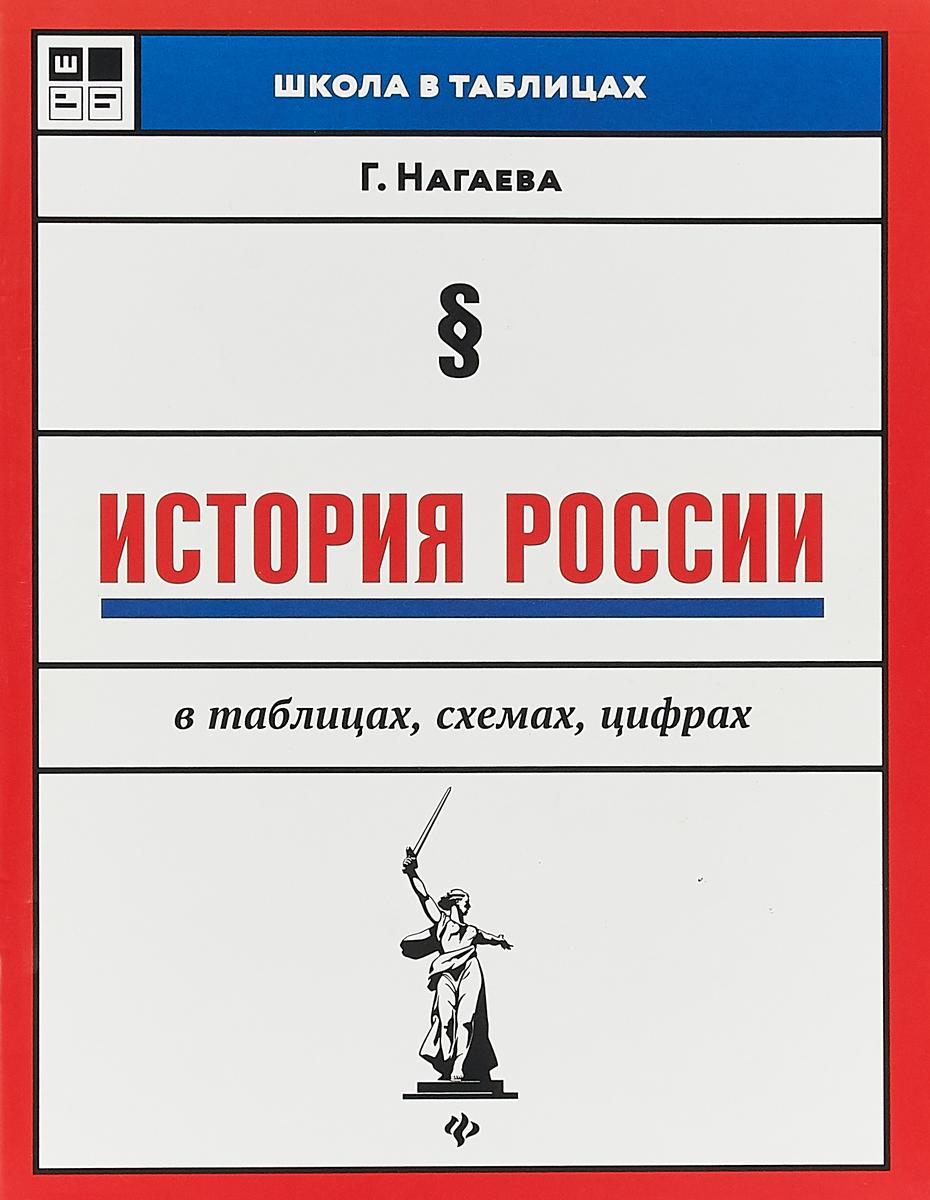 все цены на Г. Нагаева История России в таблицах, схемах, цифрах онлайн