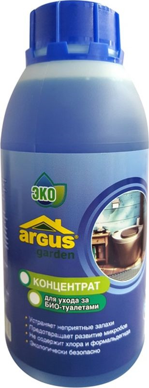 Средство по уходу за биотуалетами Argus, ТД.030007, 500 мл