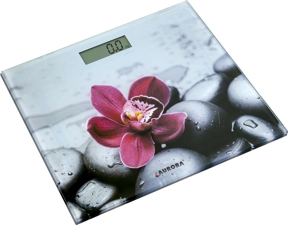 Напольные весы AURORA Весы напольные AU4306, белый цены онлайн