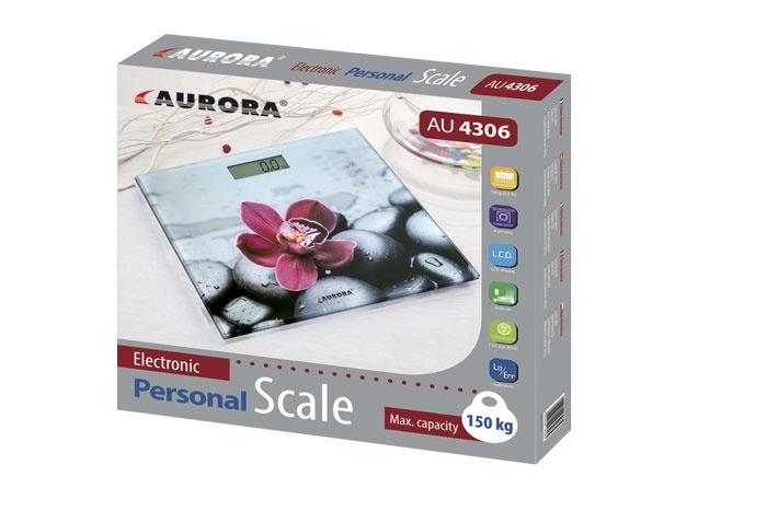 Напольные весы AURORA Весы напольные AU4306, белый AURORA