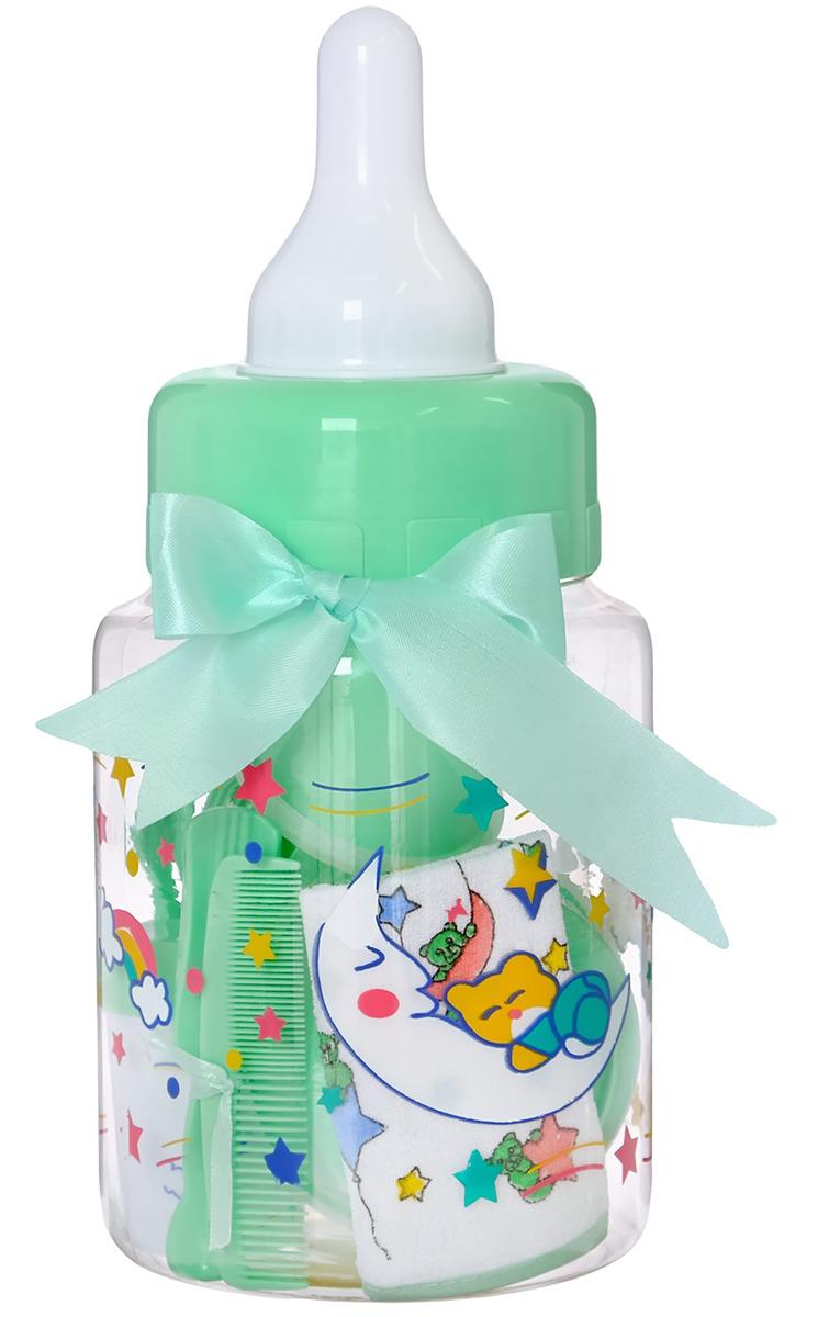 Набор для кормления Крошка Я Первый подарок малышу, 2849358, 11 предметов набор для кормления крошка я первый подарок малышу 2849357 7 предметов