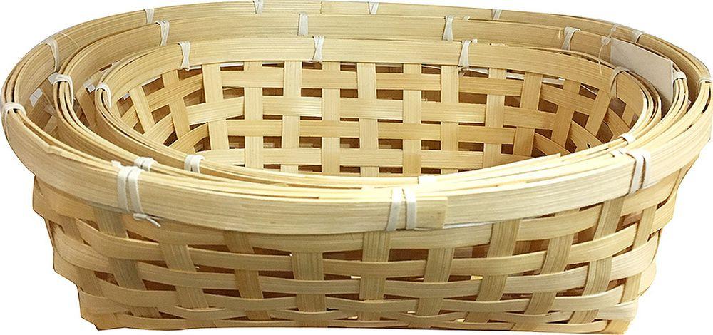 Набор корзин You'll love Чудеса, 72389, светло-бежевый, 3 шт набор шкатулок для рукоделия bestex 3 шт zw001250
